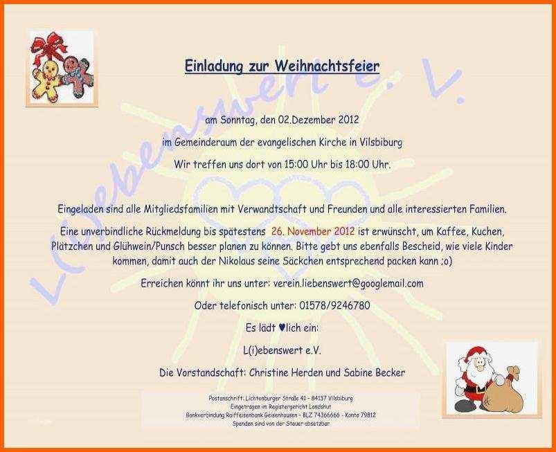 Empfohlen Einladung Lustig Einladung Weihnachtsfeier
