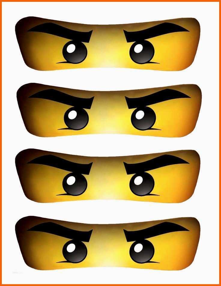 Ninjago Augen