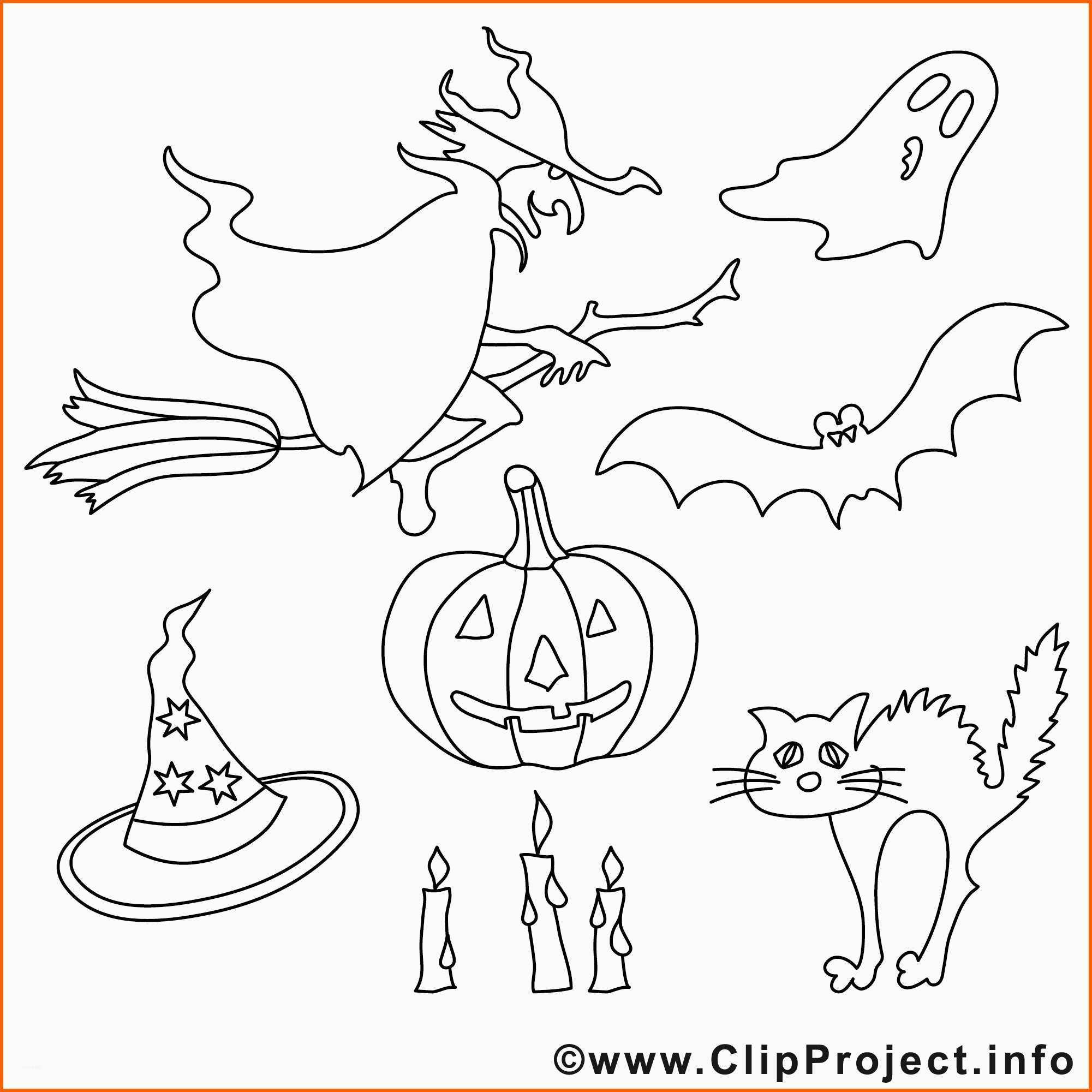 unglaublich halloween malvorlagen hexen gespenster