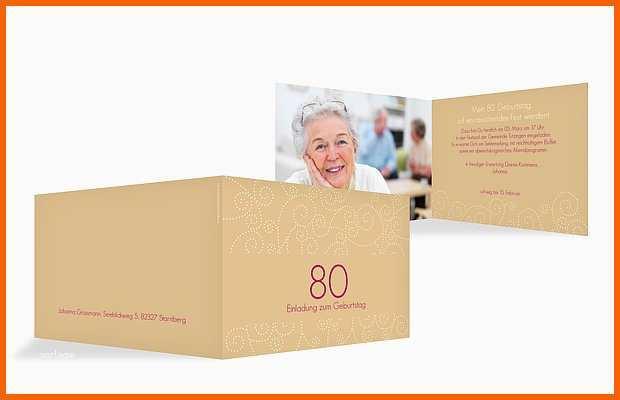 wunderbar einladung zum 80 geburtstag einladungskarten